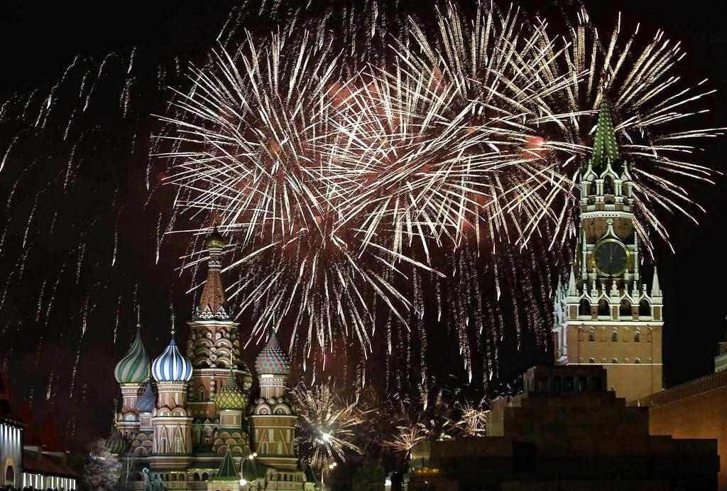 Открытки прикольные, новый год россия картинки