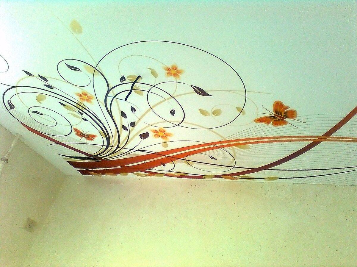Рисунок на потолок