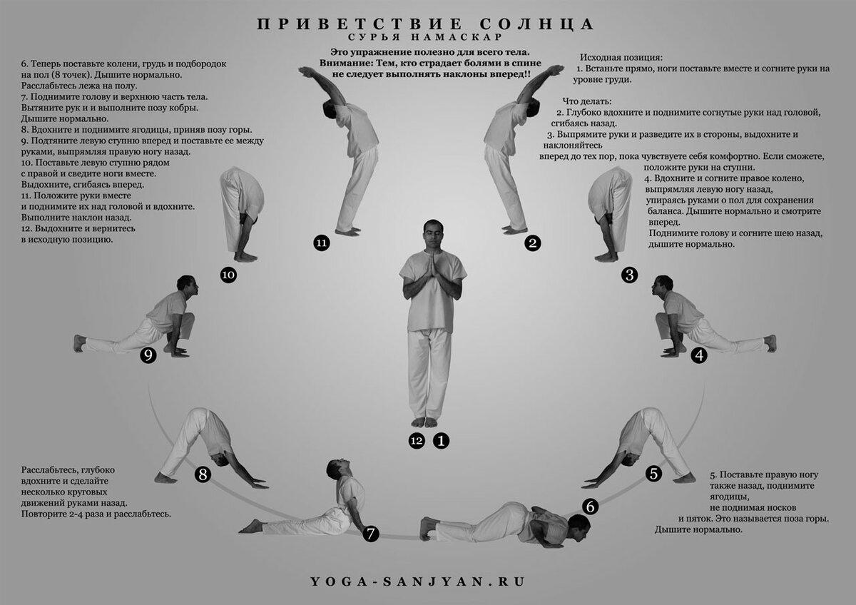 темного утренние асаны йоги в картинках также