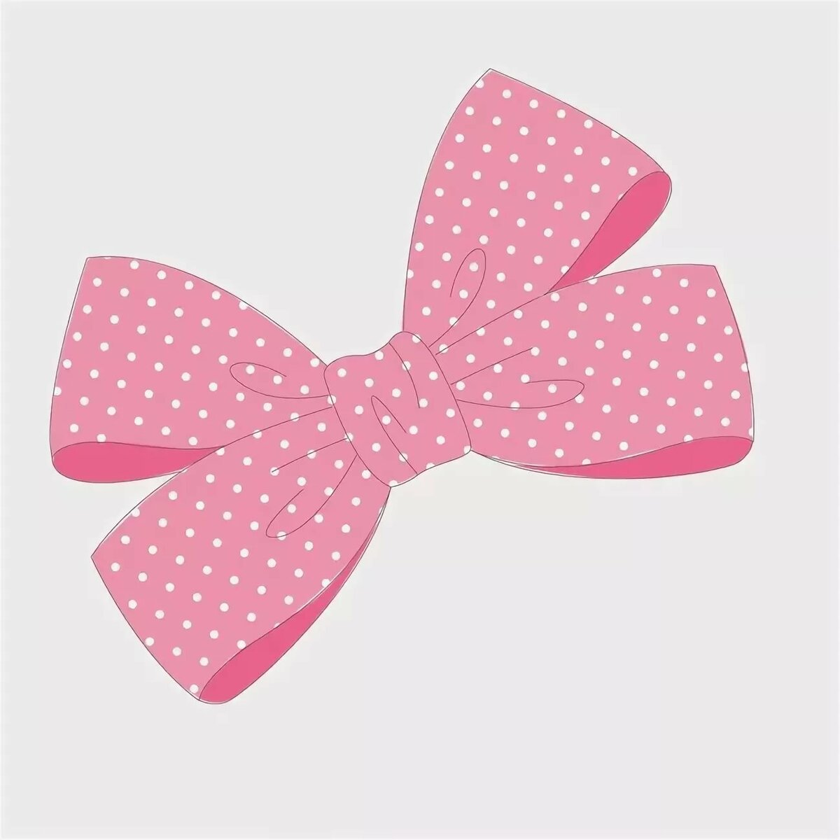 Бант розовый картинка