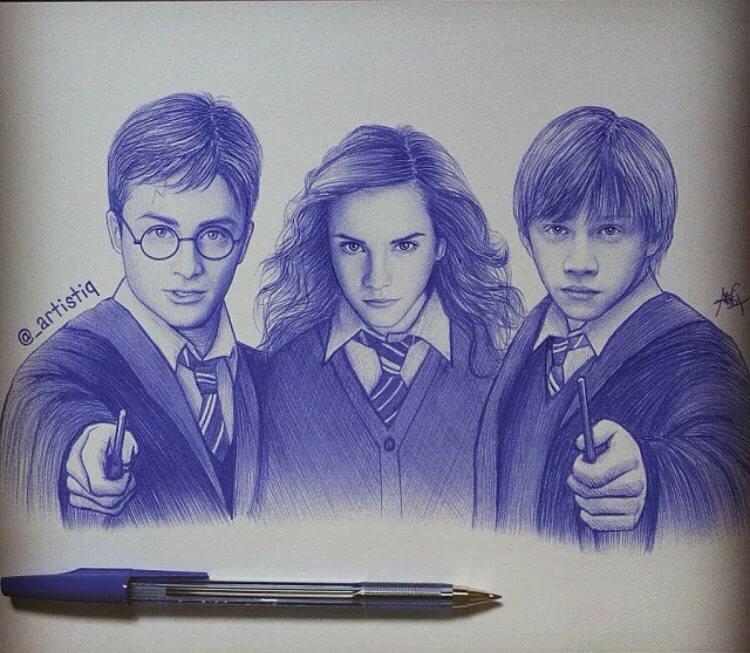 Рисунки закрытая школа простым карандашом
