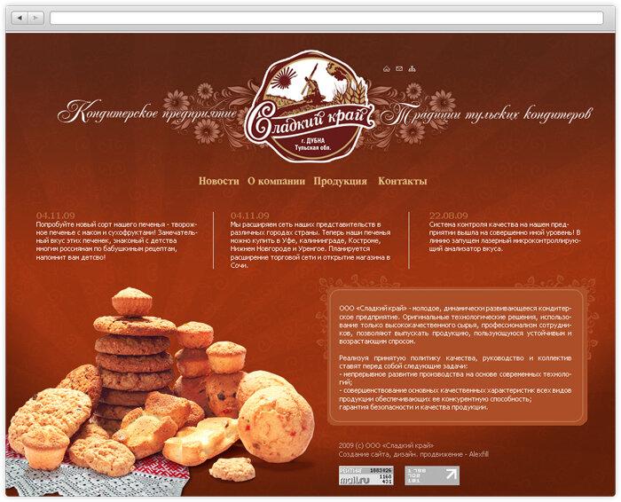Сайты компании сладко создание платных услуг на сайте