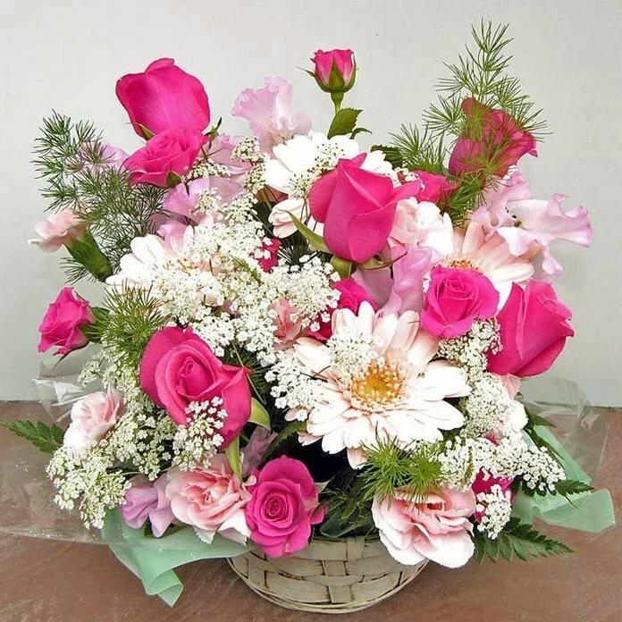 Открытки с цветочками и пожеланиями
