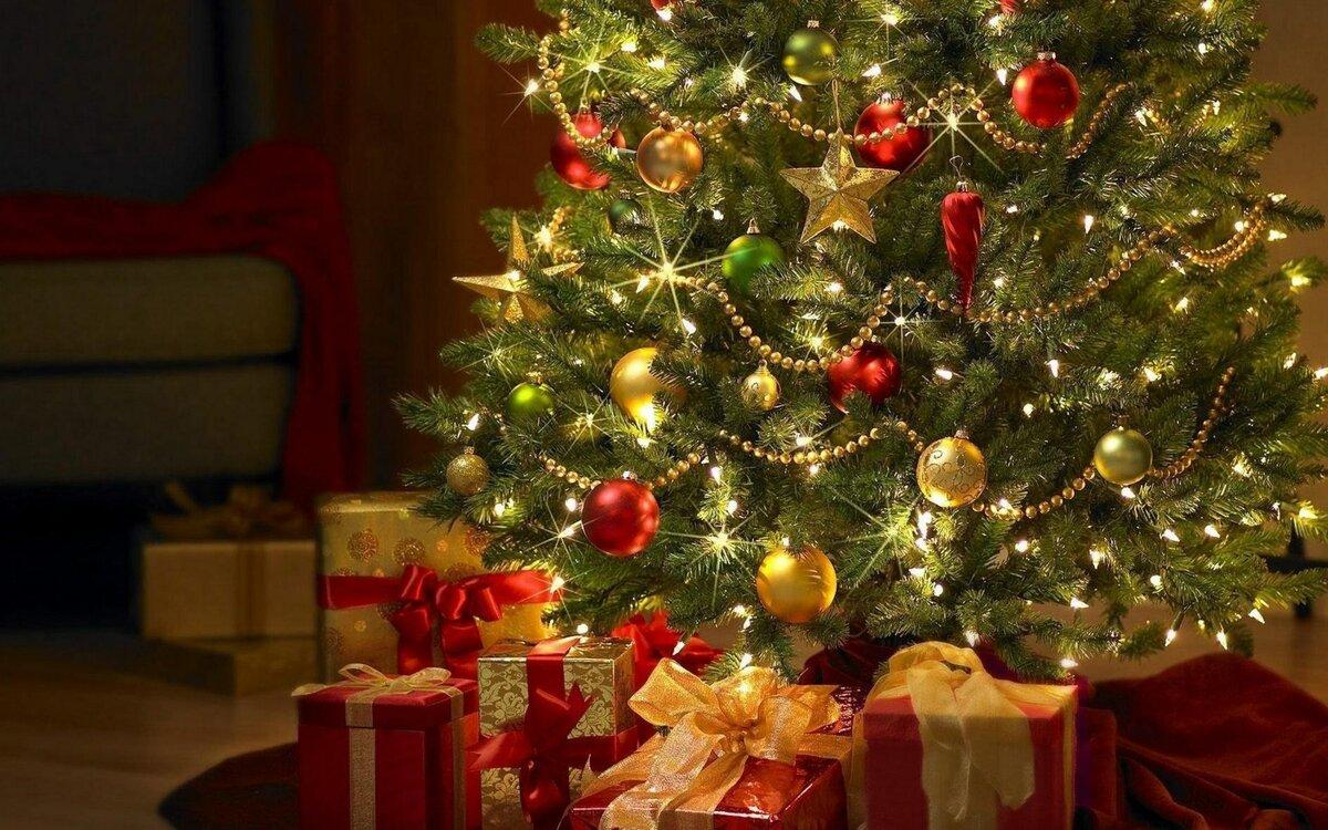 Картинки с елочками на новый год
