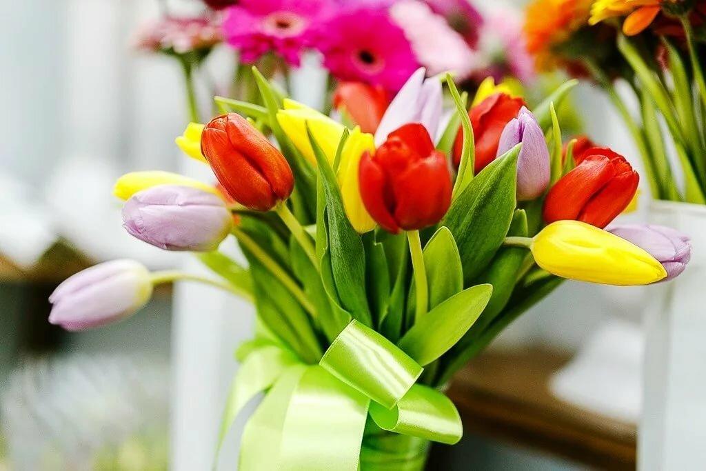 Картинки цветов с восьмым марта
