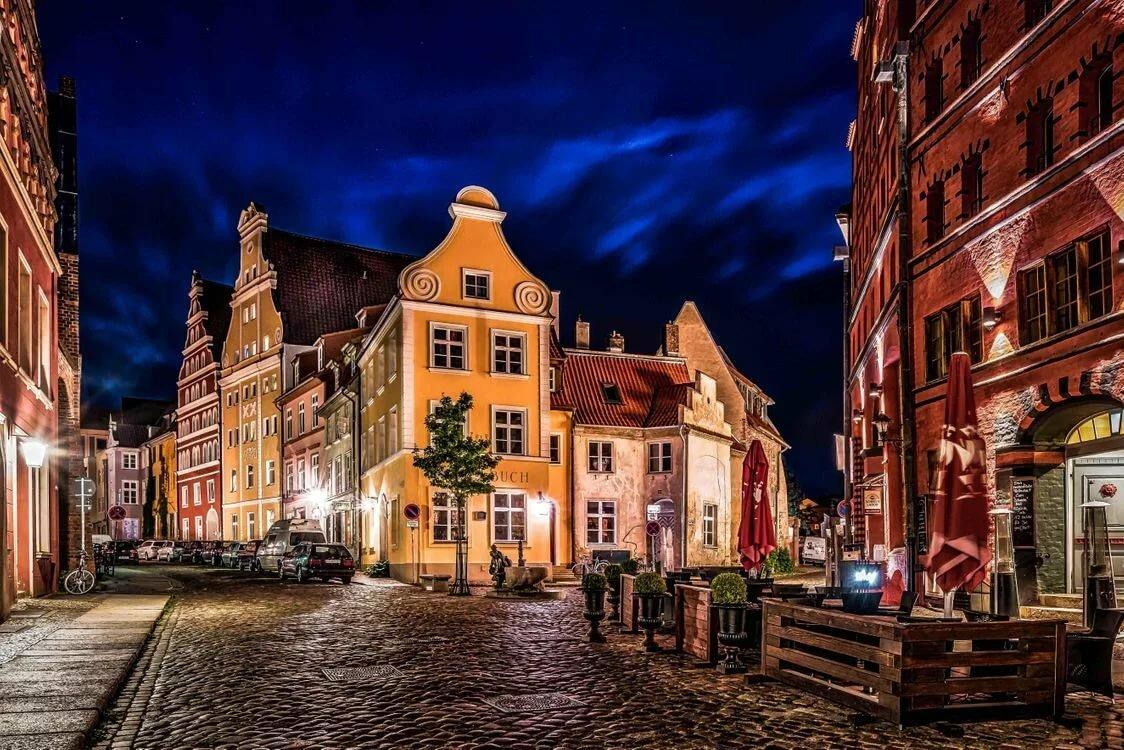 Улицы немецкого города картинки