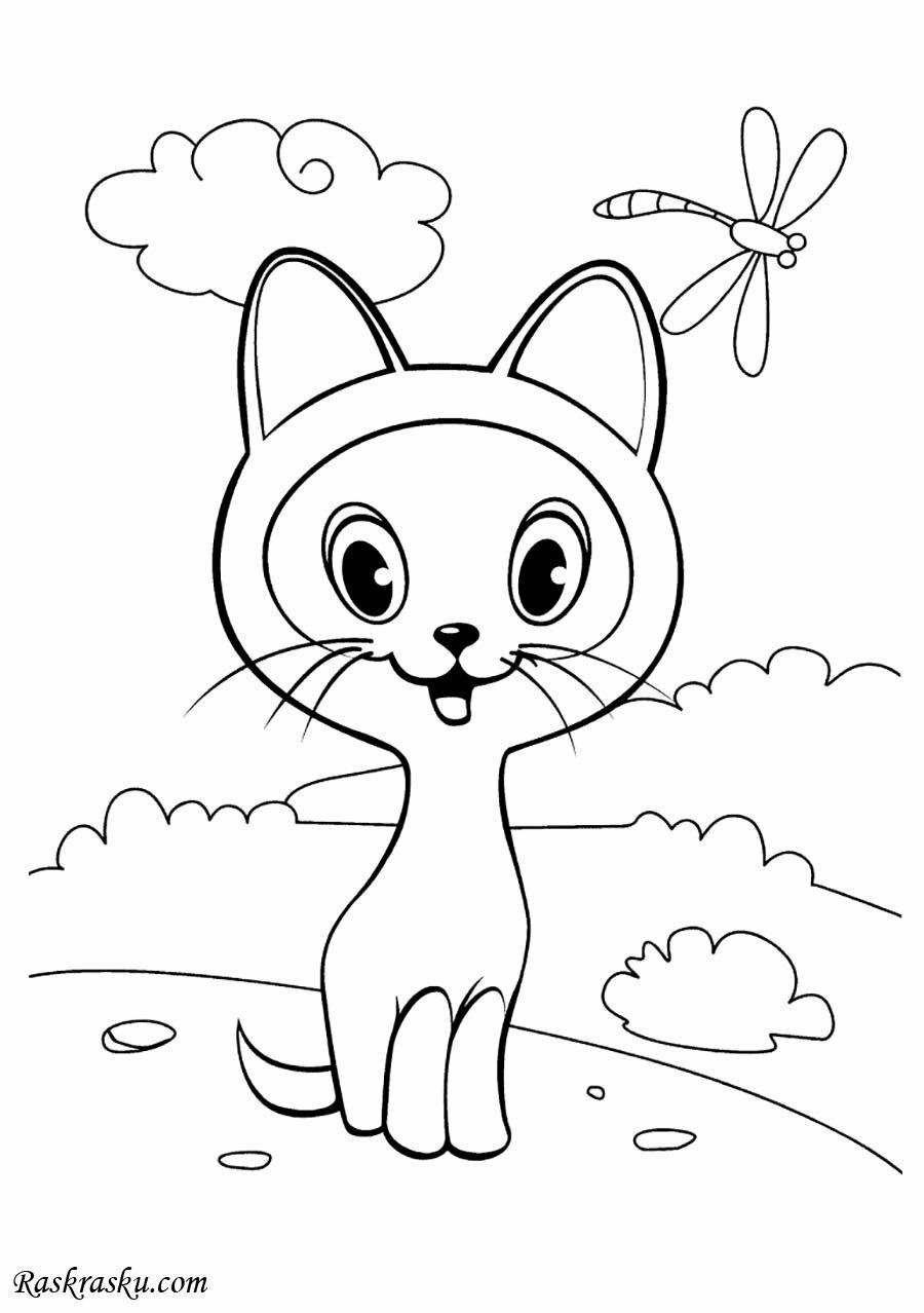 «Раскраска маленький котенок Гав» — карточка пользователя ...