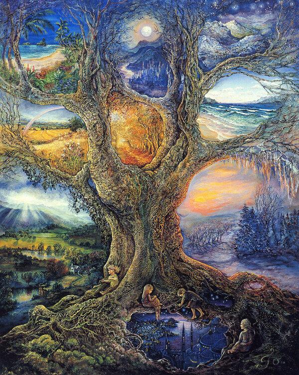 Эзотерические картинки деревьев