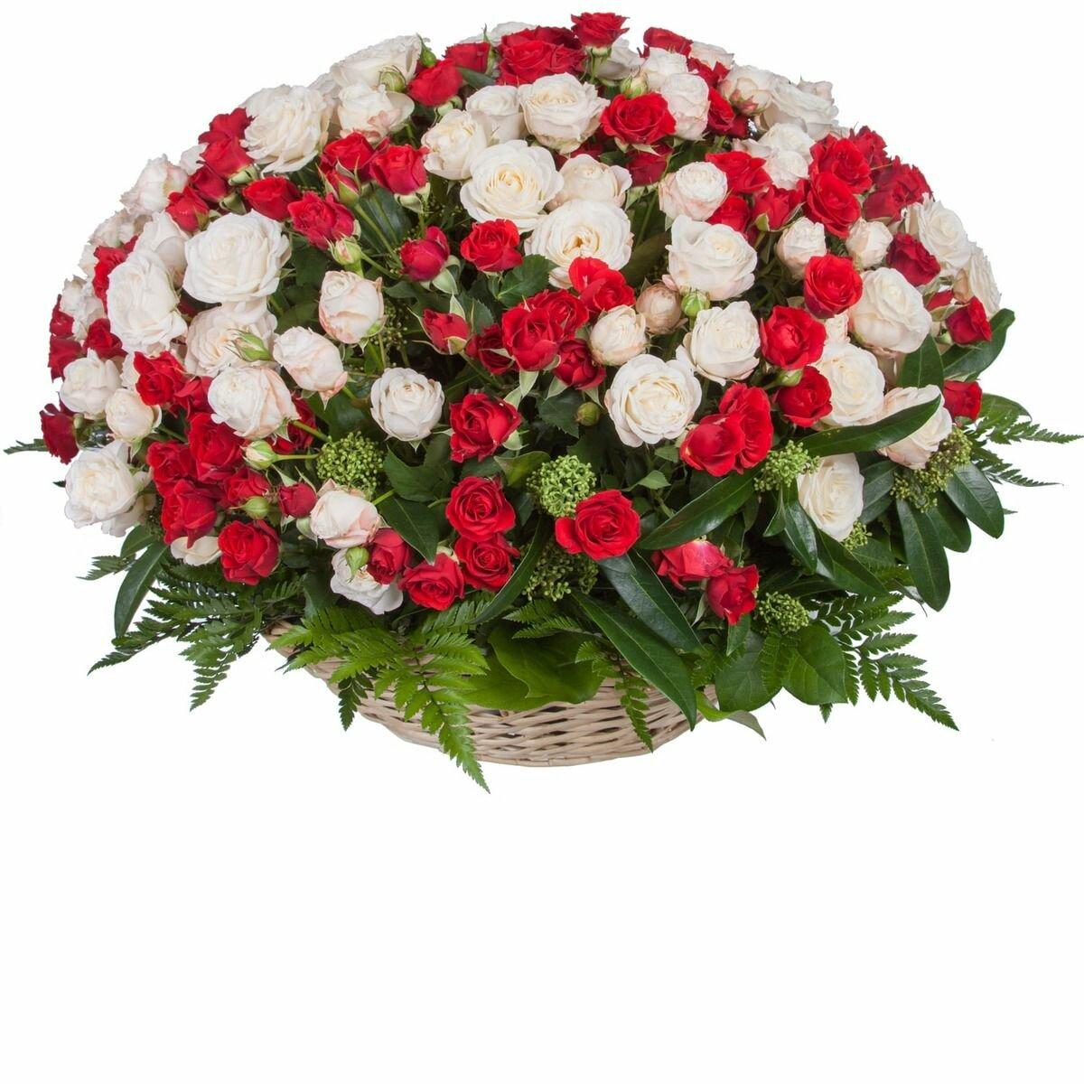 Заказать композицию из цветов в москве на день рождения, цветов