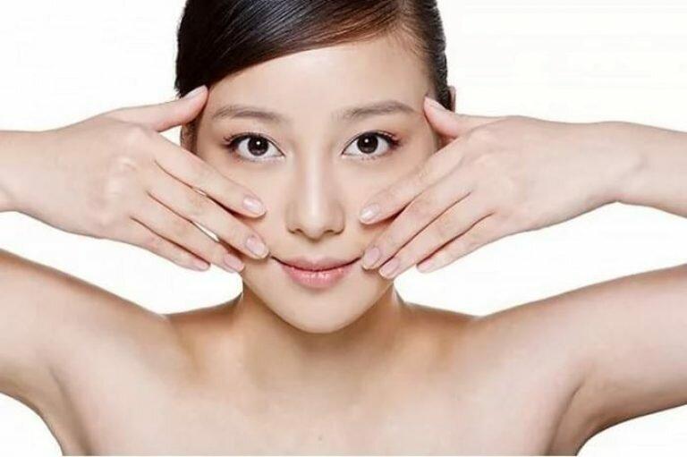 Картинка японский массаж лица
