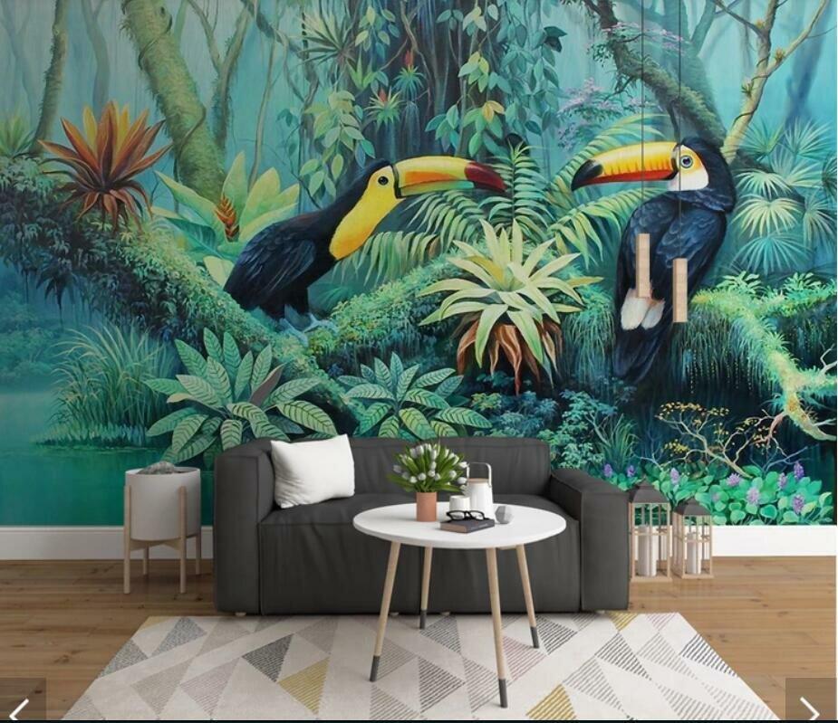 Открытки, картинки в тропическом стиле