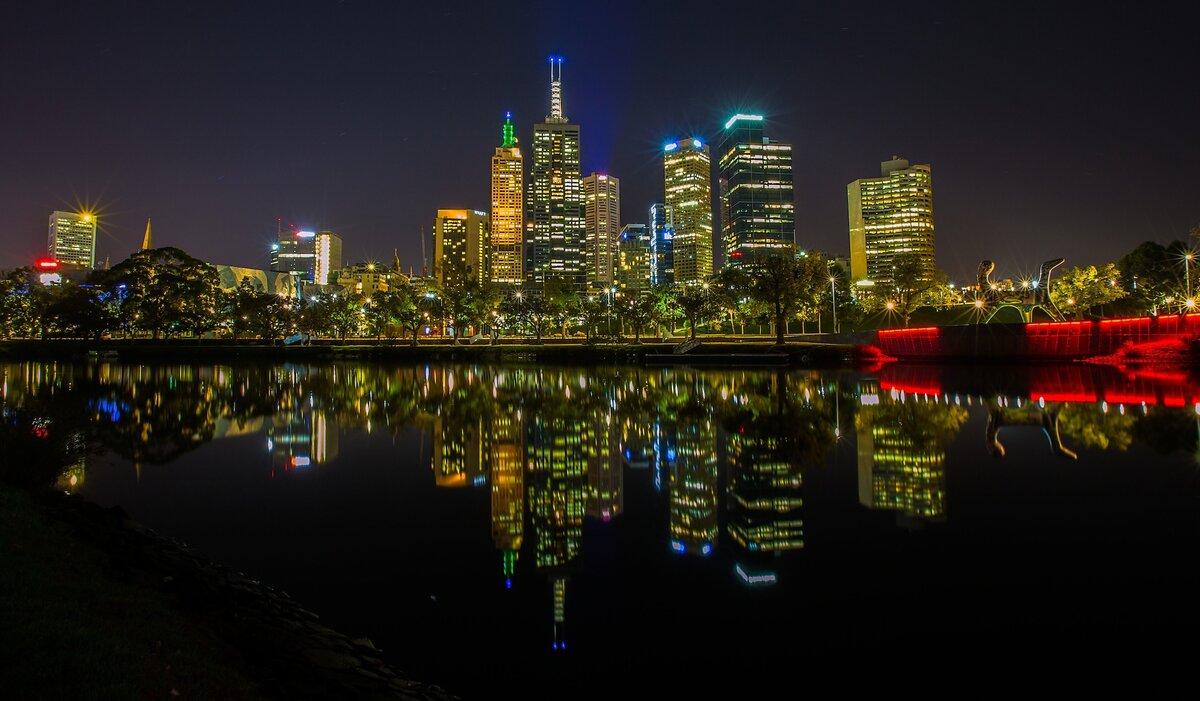 ночной мельбурн в картинках того, такое оформление