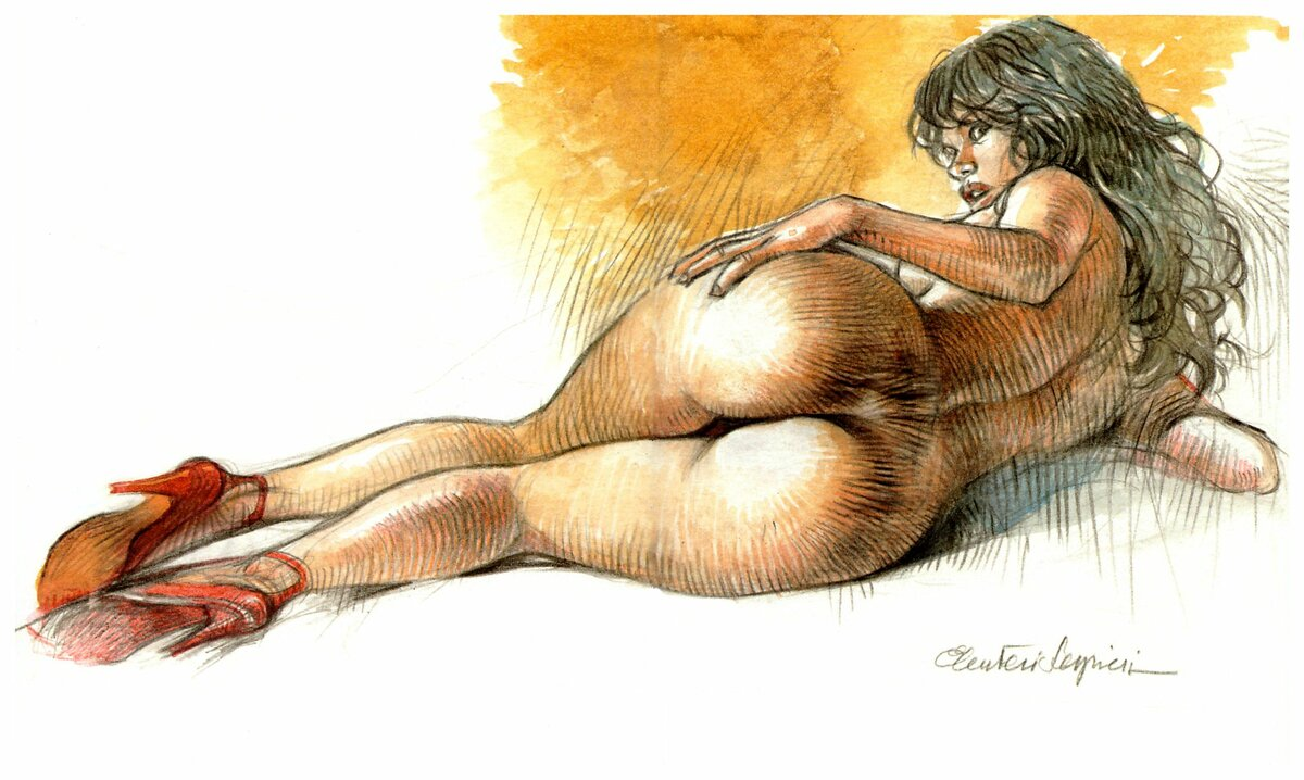 Erotic art rear entry — pic 10