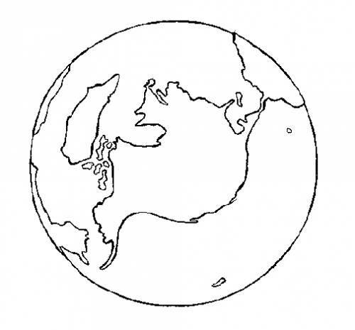 Картинки земли карандашом