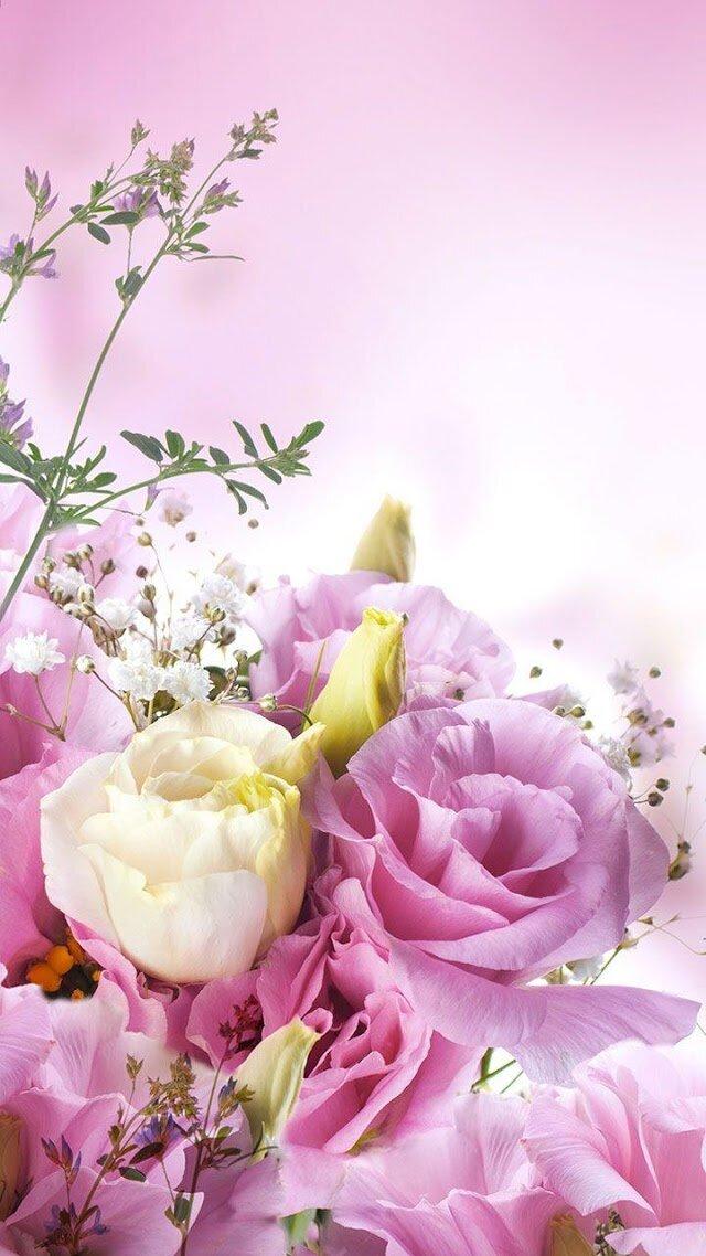 Открытки, вертикальные картинки цветы красивые