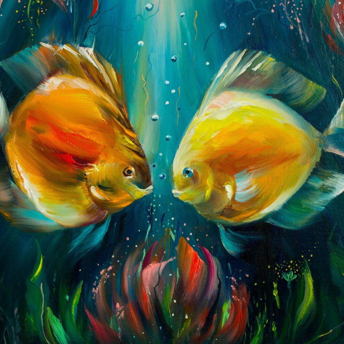 наверняка картинки маслом подводного мира нежно-сиреневыми