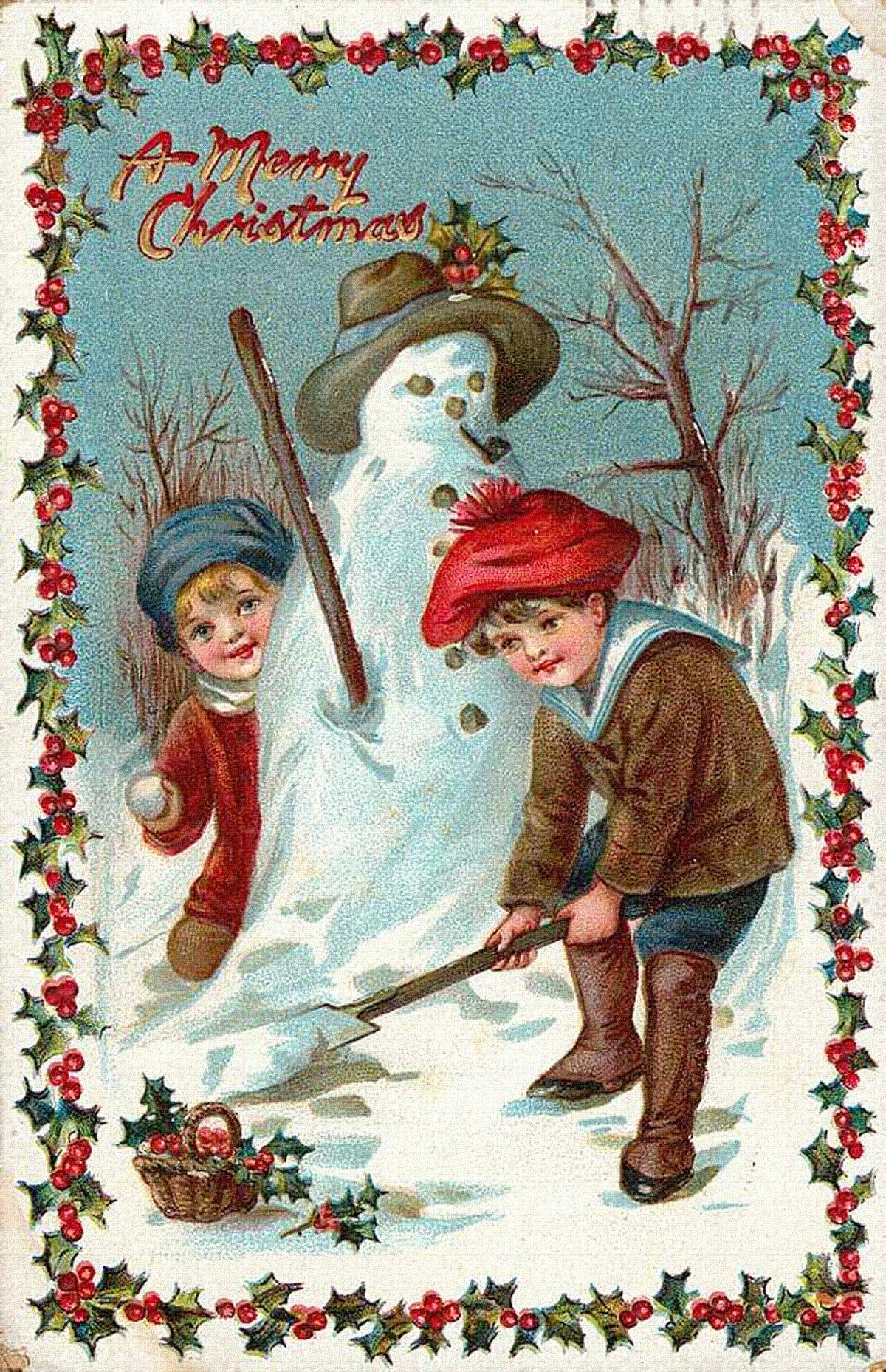 Парень, открытки старинные новогодние и рождественские фильмы