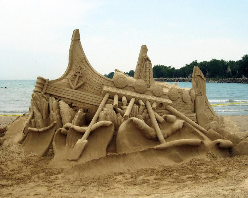 скульптура из песка фото новом мотоцикле если