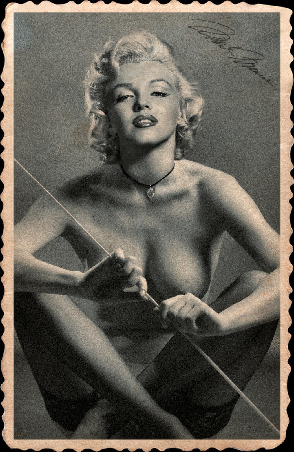 Marilyn monroe real nude vagina pics, iron man fucking