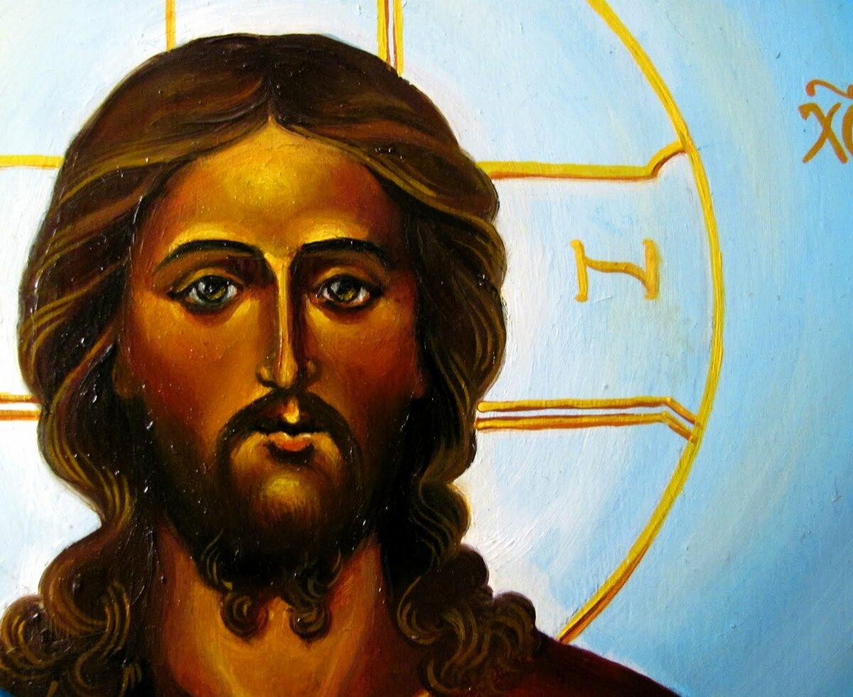 большая картинка иисуса христа журнале