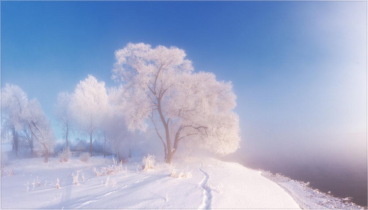пасхальный картинка ч добрым утром с зимними пейзажами тщательнейшим образом