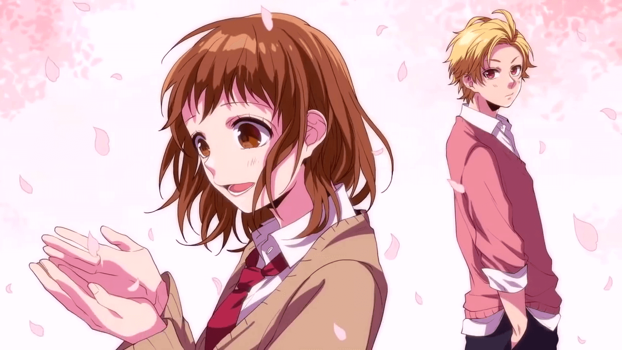 Anime honeyworks itsudatte bokura no koi wa 10 centimeters card from user krestyaninovaxaiushe in yandex collections