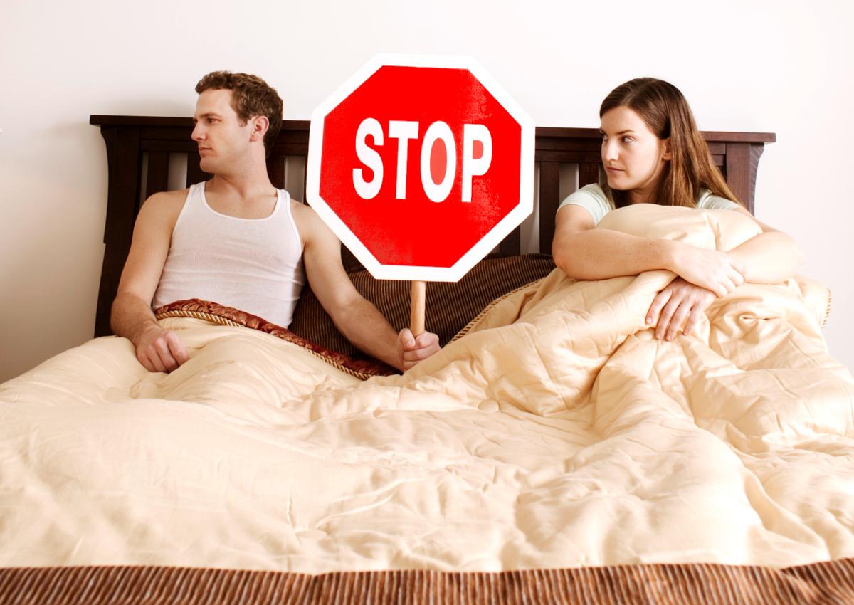 муж отказывает в сексе жене