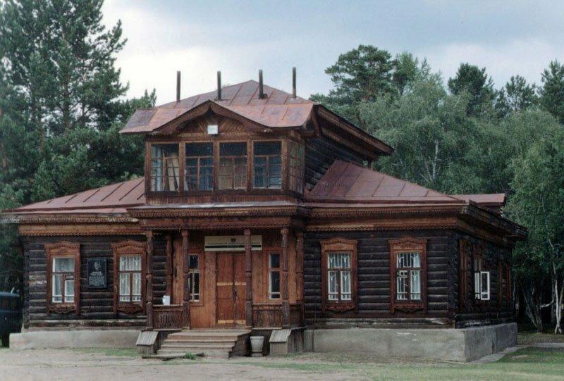 мезонин дом картинки