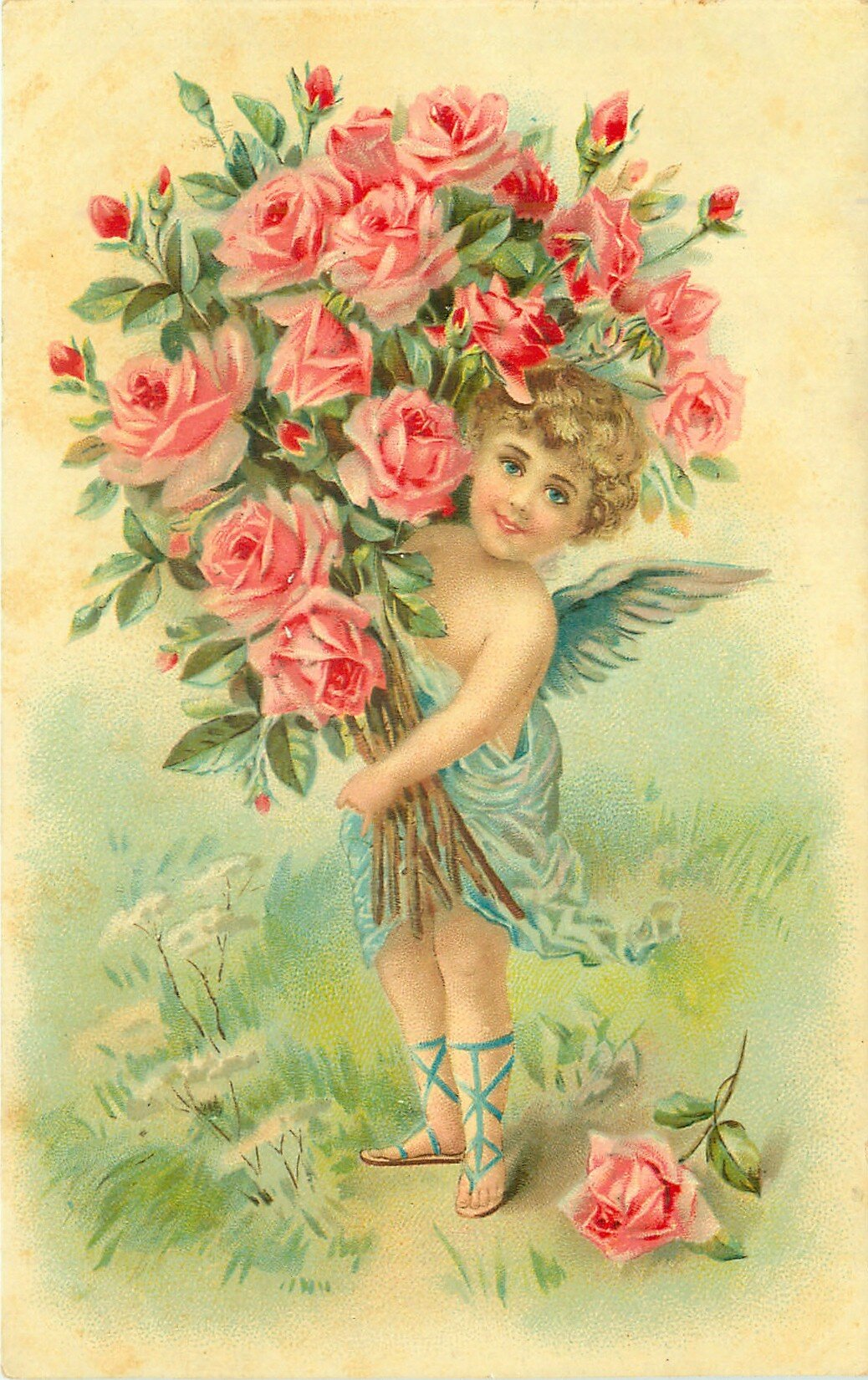 Открытки винтажные с днем рождения девушке, признания любви английском