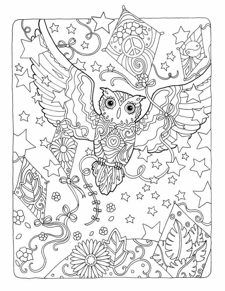 «Раскраски антистресс совы» — карточка пользователя Анна В ...