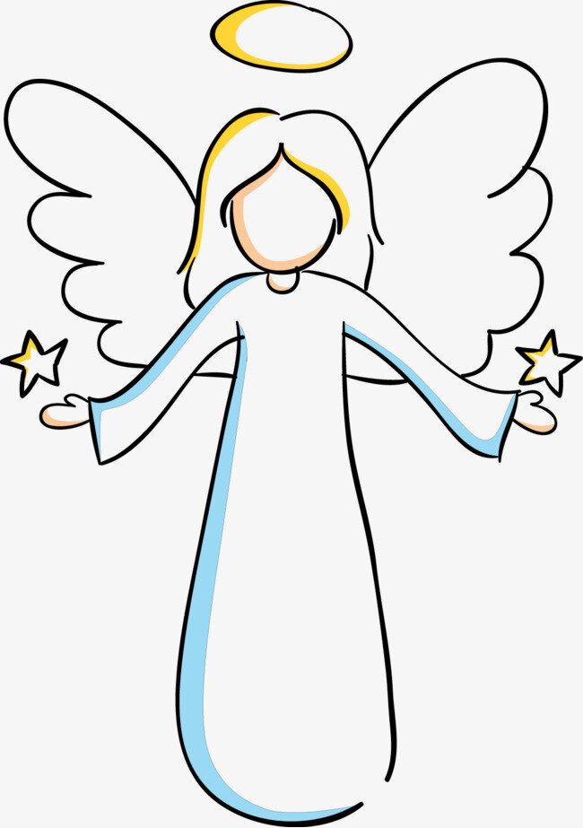 рисунок ангелы давно