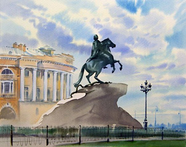 уже медный всадник открытки санкт-петербург это край удивительной