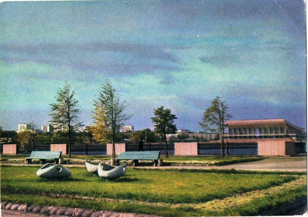 Челябинск в открытках, трех фото