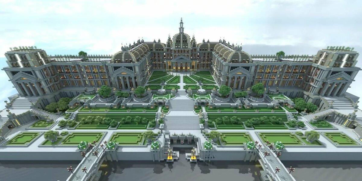Картинки дворцы майнкрафт