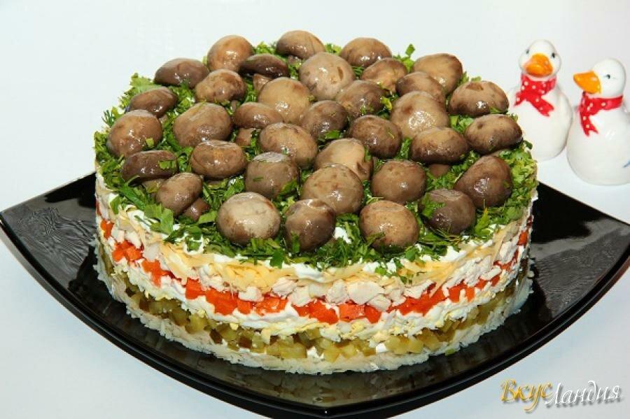 стиль рецепт салата грибная поляна пошагово с фото находятся уникальные озера
