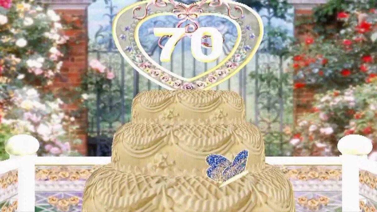 Юбилеем, видео поздравление с 70 летием мужчине