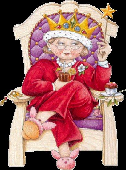 прикольная картинка королевна