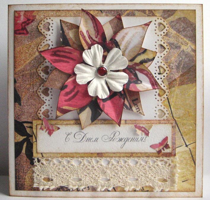 Подарок открытка своими руками бабушке