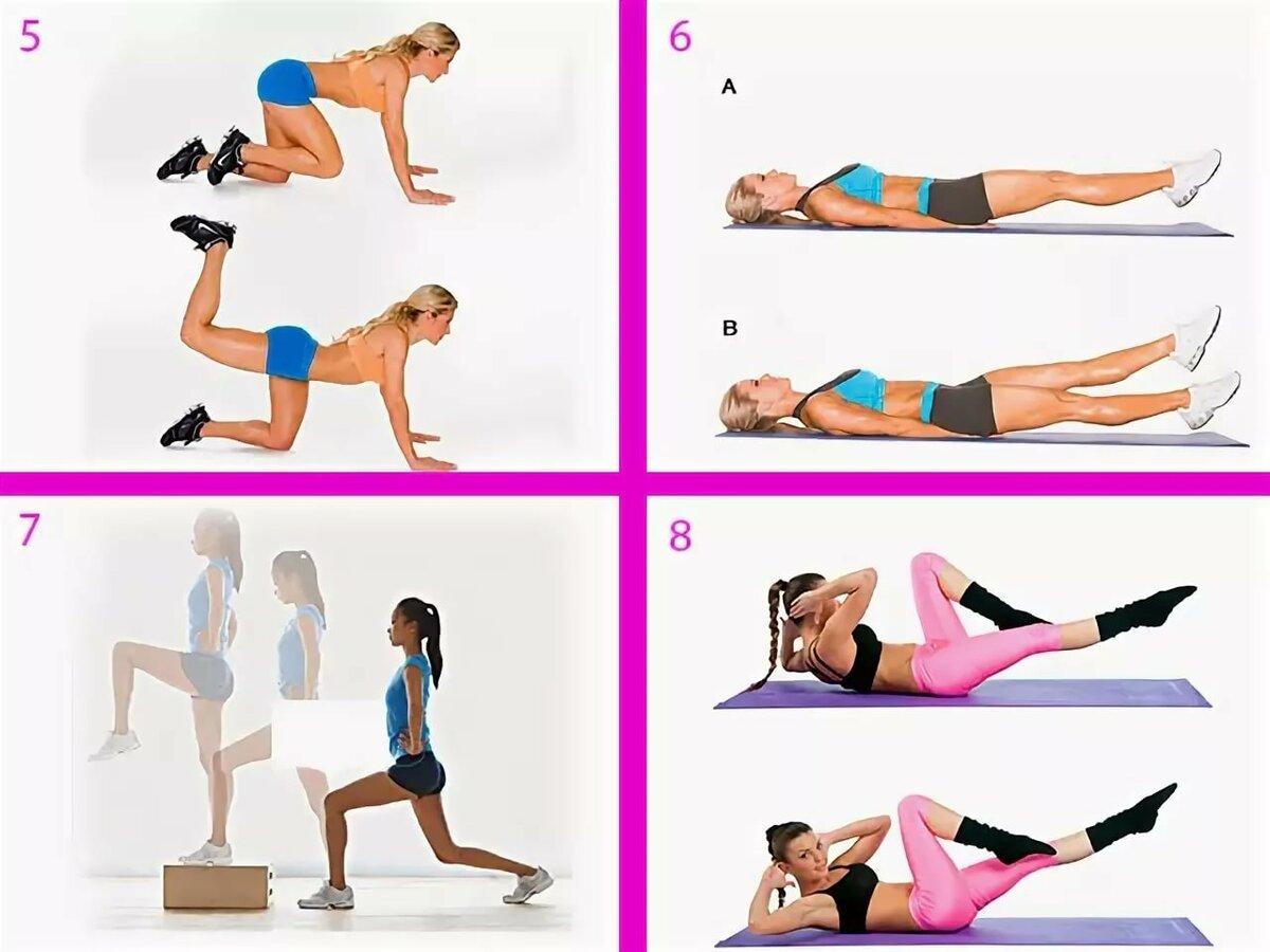 Способ быстро похудеть упражнения