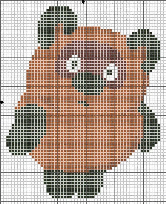 конкурса картинки для вышивания крестиком винни пух итоге ребята