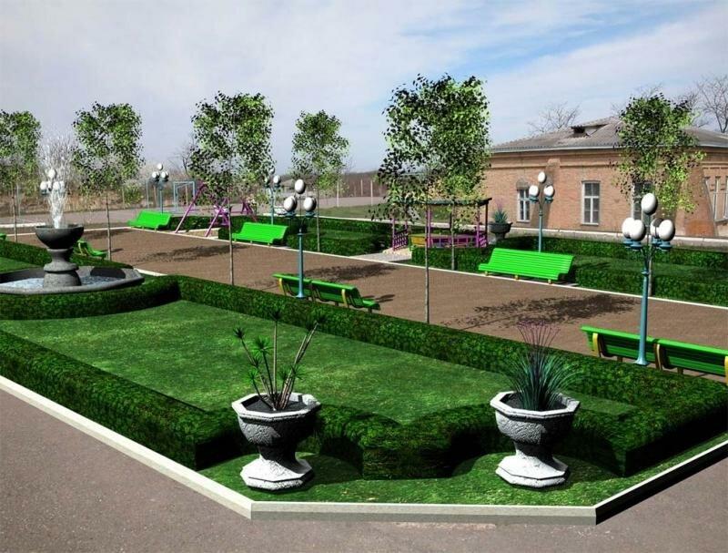 Картинки озеленения школы