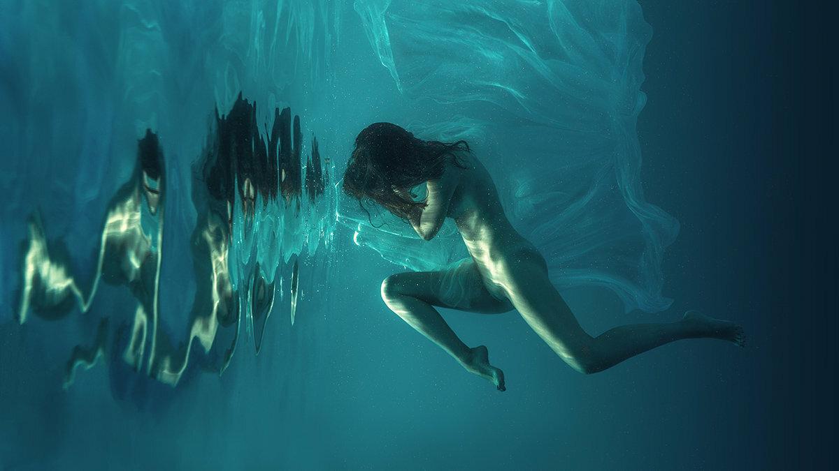 подводное эротическое плавание - 3