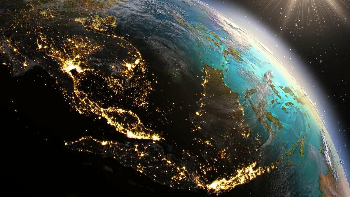 картинки земля из космоса на рабочий стол что