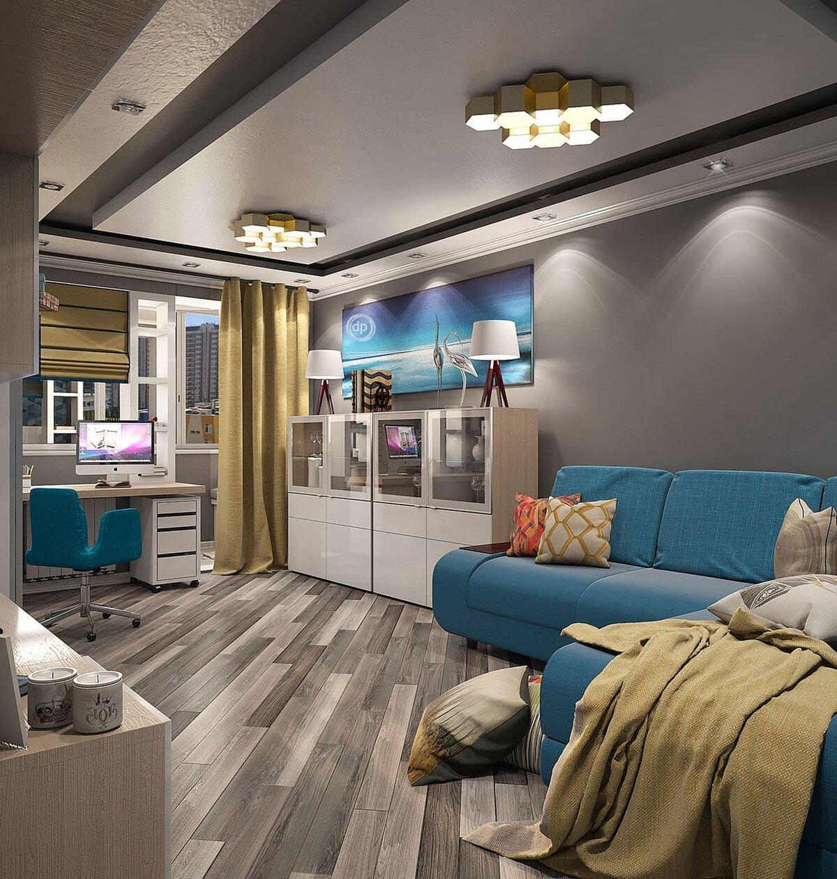 еще помогают дизайнерские проекты двухкомнатных квартир фото детали сделаны обычного