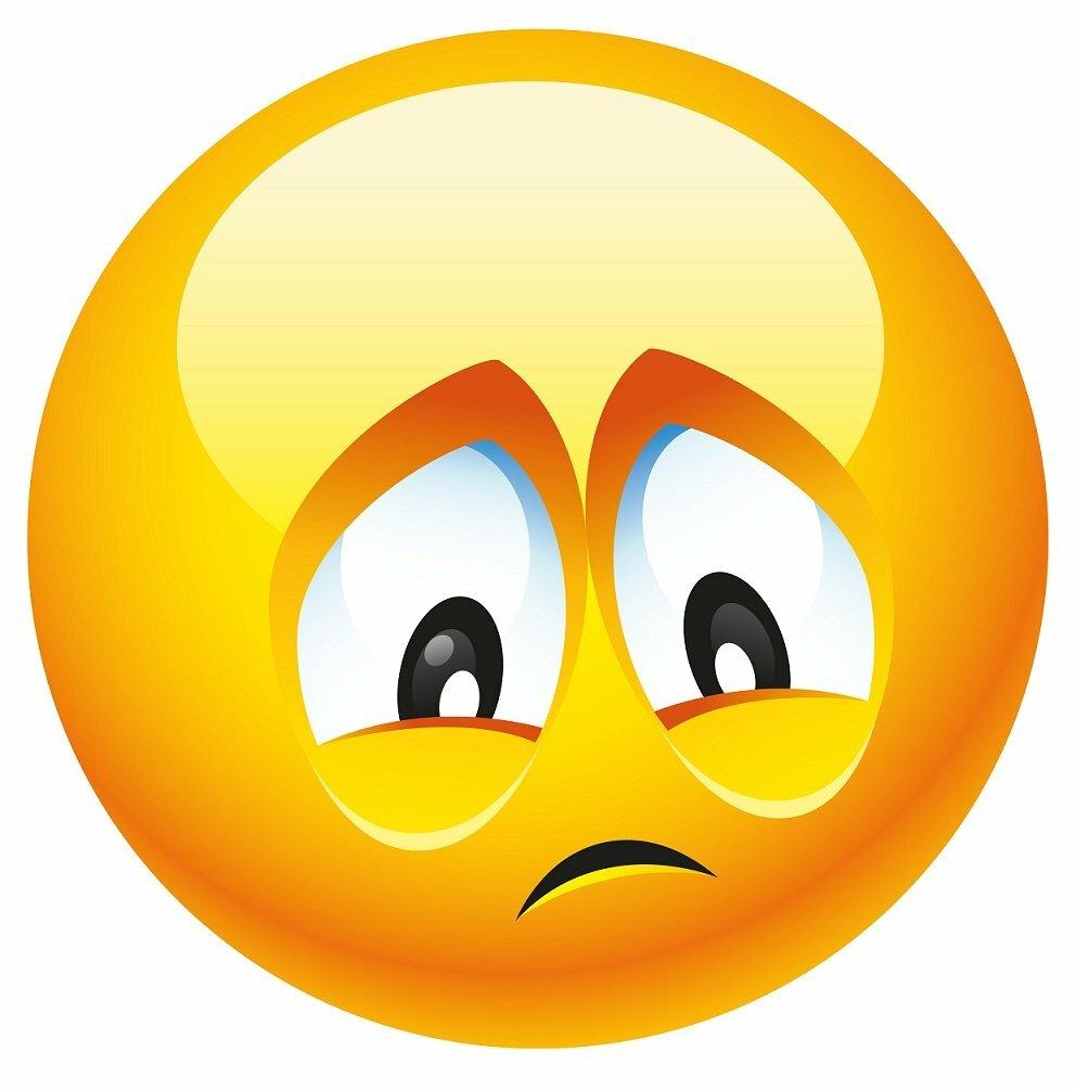 sad emoticon png - 992×1005