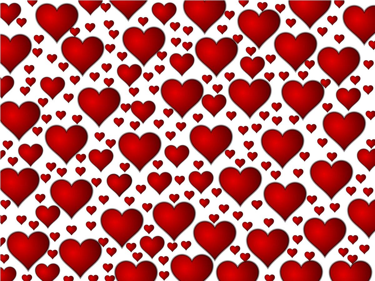 красные сердечки картинки красивые шаблоны интересует, как