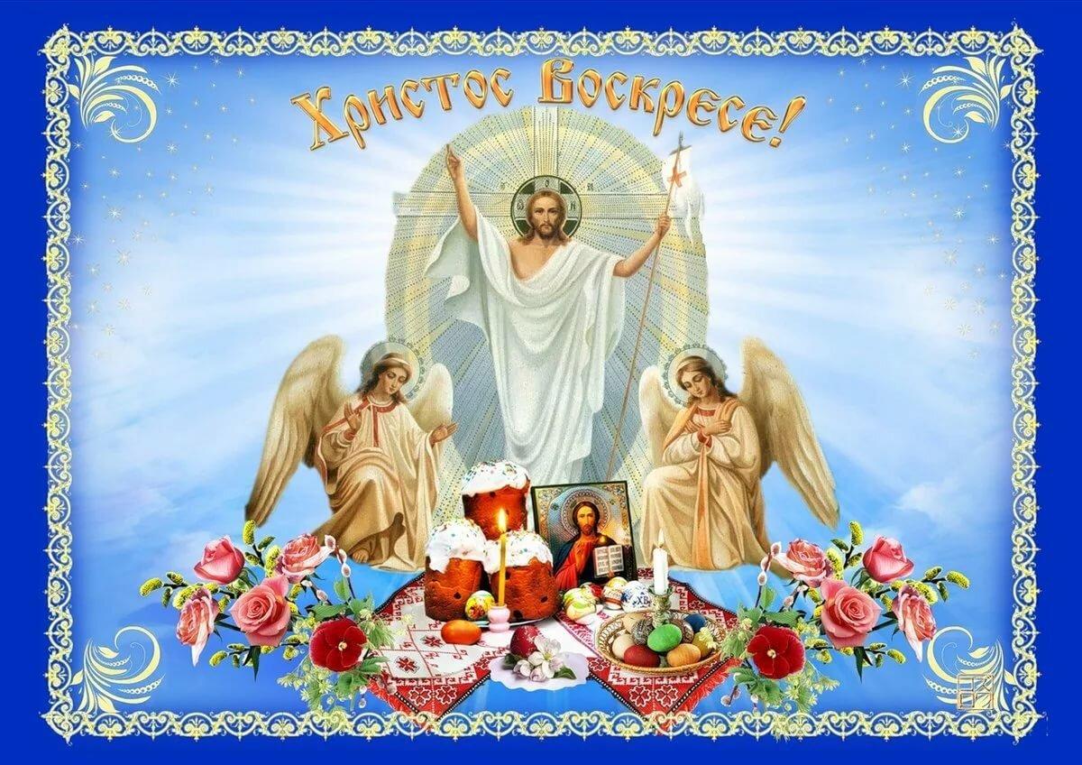 Поздравлением днем, картинки христос воскресе с пасхой