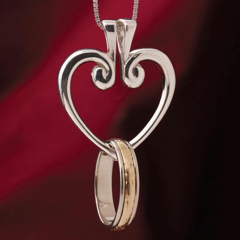 Кулон Ring Heart в Хмельницке