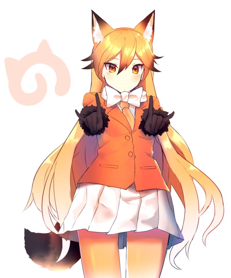 Картинки аниме девочек лисичек