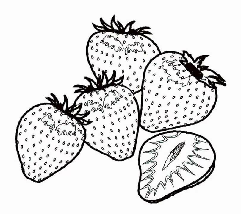 Маленькие картинки ягод распечатать
